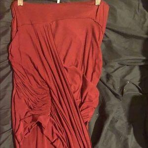 Free People wrap around skirt.